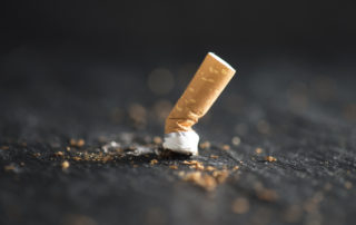 Stop Smoking Cigarette End